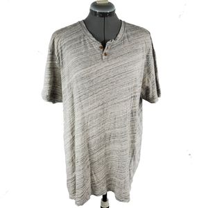 Lucky brand short sleeve gray t-shirt